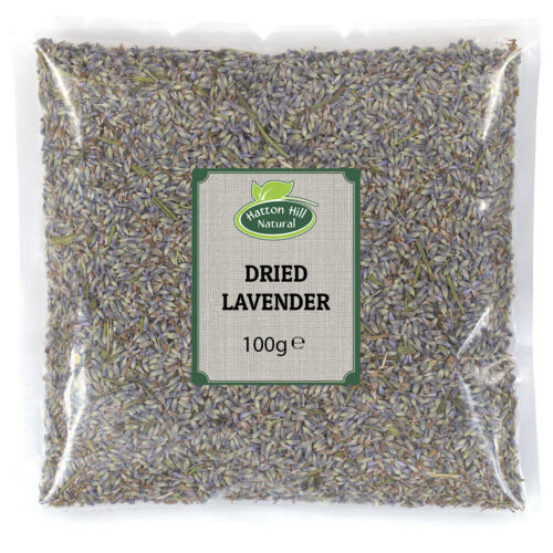 Dried Lavender Flowers 100g Fresh Aromatic Room Fragrance Natural