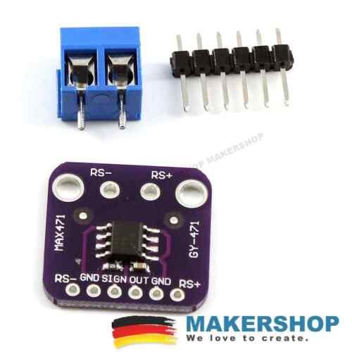 GY-471 Strom Sensor Spannungssensor Modul MAX471 bis 3A 36V Arduino Raspberry Pi
