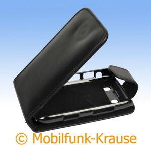 Flip-Case-Etui-Handytasche-Tasche-Hulle-f-BlackBerry-Bold-9780-Schwarz