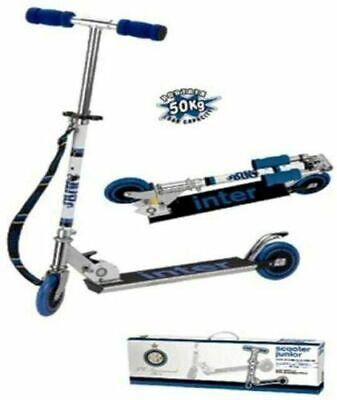 Monopattino in alluminio Inter scooter 2 ruote Nuovo con scatola