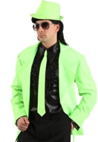Corbata corbata Neon 50er años Boogie Woogie hippie hippy fiesta de disfraces discoteca