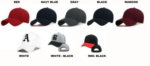 Unisex Mens Women Casual BASEBALL SNAP BACK Size Adjustable Strap CAP HAT