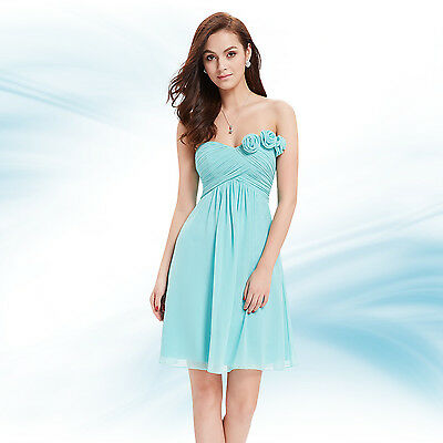 Gorgeous Short Graduation Homecoming Bridesmaid Party Dress Prom Ball Gown 03543