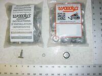 120 Woodys Signature Series Stud 1.075 Studs Square Alu Backer Snowmobile Track