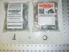 120 WOODYS Signature Series Stud 1.325 Studs Square Alum Backer Snowmobile Track
