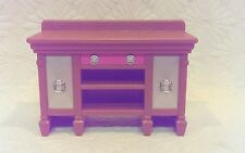 2008 MATTEL FISHER PRICE DOLL HOUSE FURNITURE SIDE BOARD STAND