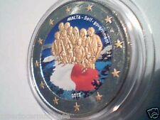 2 euro 2013 MALTA color farbe kleur cor kulur цвет Malte 1921 self government