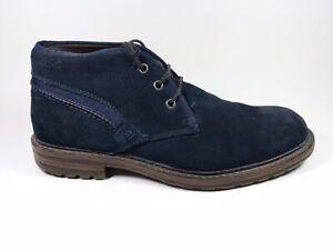 à Am Eu marine suède cuir en Shoe compensées Bottes 9 bleu Co talon Uk 43 OrFRwrtq