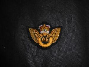 Details about Issue British Army Bullion Wire No 1 Dress REME Aircraft  Engineer AE Badge