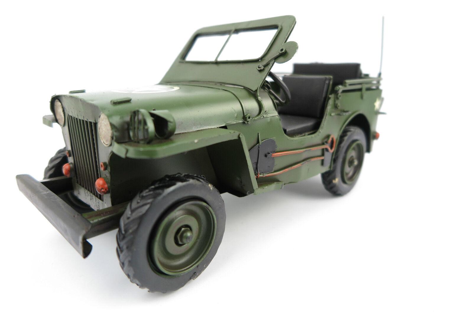 Blechauto Ami JEEP US Army 2.WK 2.WK 2.WK Modellauto    Reparieren  c39abc