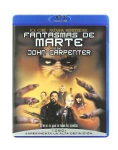 Fantasmas de Marte Blu-ray REGION LIBRE.A-B-C