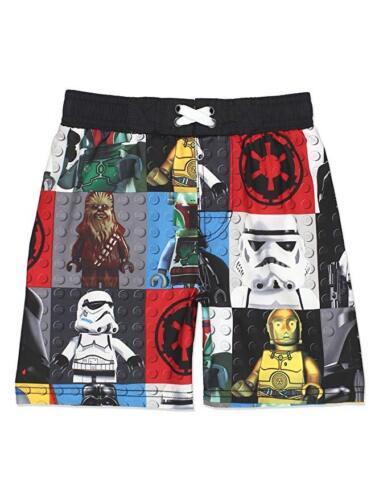 Star Wars or Lego Star Wars Boys Swim Trunks NWT  Swimsuit UV50  Size 5