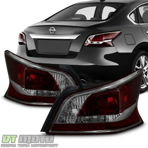 Image Is Loading New Smoke Lens Tail Lights Brake Lamps For