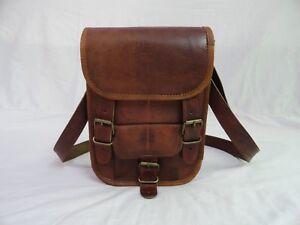 9-034-Vintage-Leather-Crossover-Messenger-Bag-Passport-Camera-Mobile-Purse-Handbag