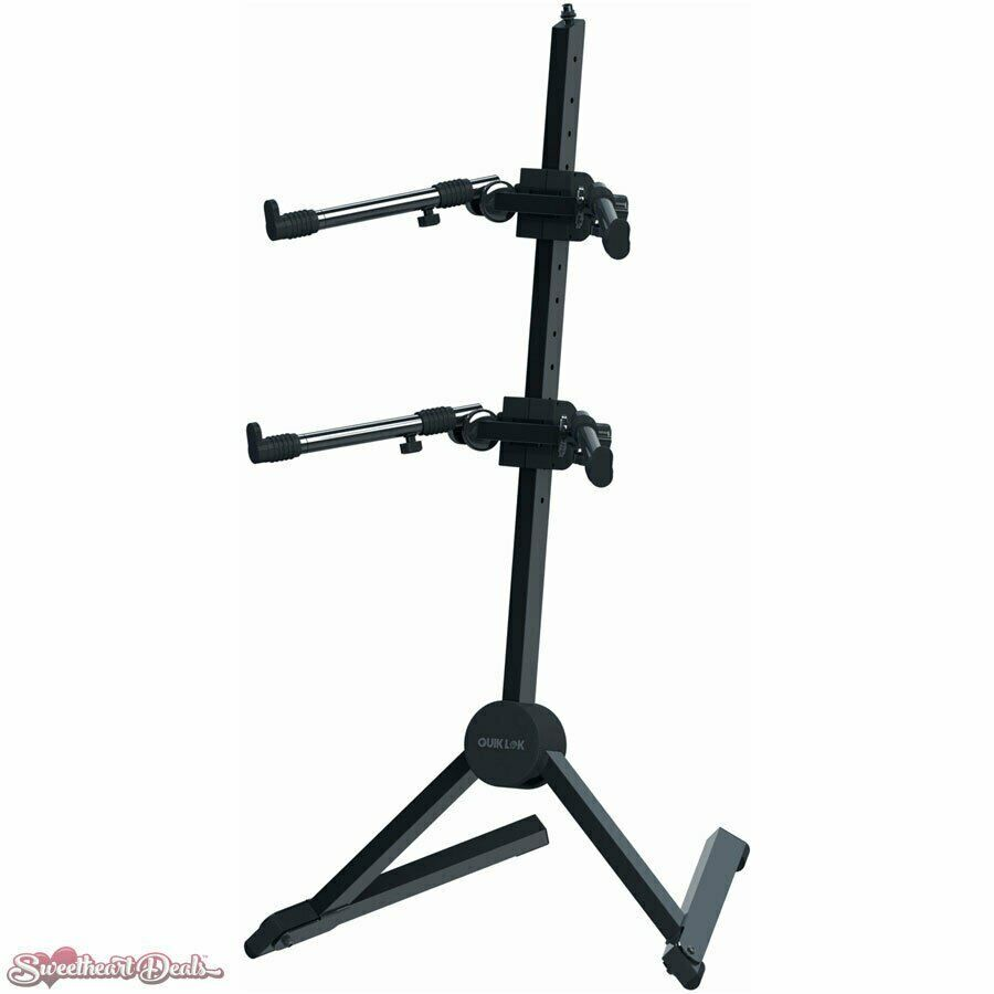 QuikLok SL-930 Fully Adjustable Double-Tier Slant Keyboard Stand