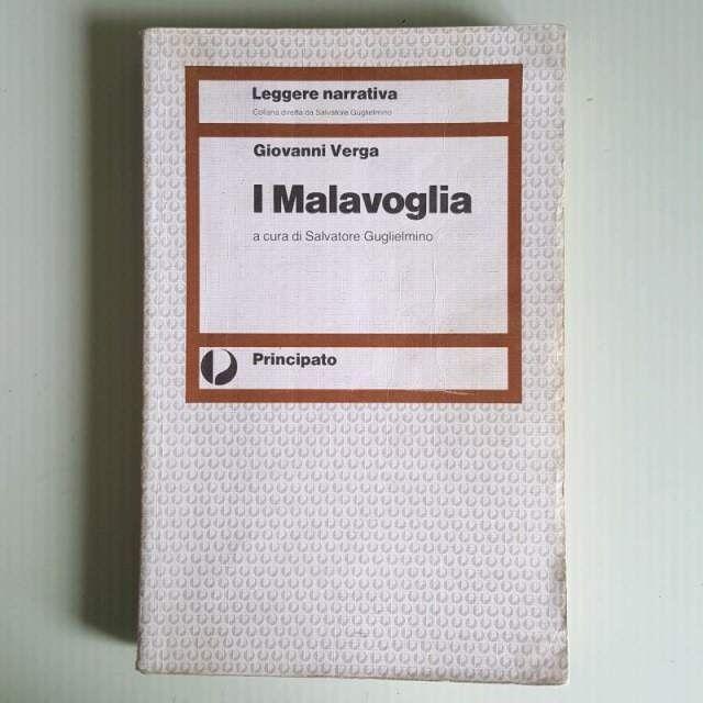 I Malavoglia - Giovanni Verga - Leggere Narrativa - Principato - 1995