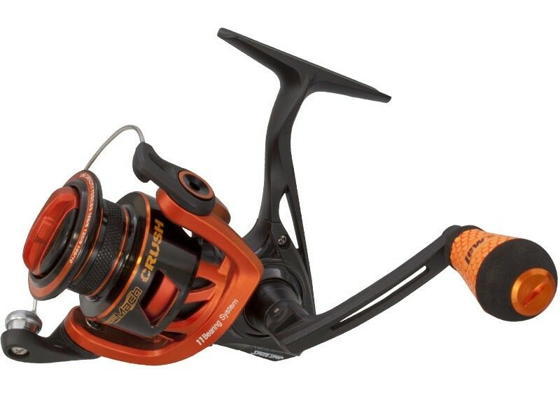 Lew's MCR300 Mach Crush Spinning Reel - Right/Left Retrieve 6.2:1