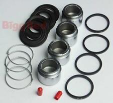 Mercedes 560 SE SEL SEC W126 REAR Brake Caliper Rebuild Repair Kit (2) BRKP109