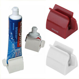 Rolling-Tube-Toothpaste-Squeezer-Tooth-Paste-Easy-Dispenser-Seat-Holder-Stand