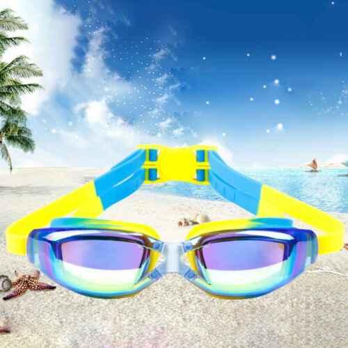 Kids Children Swim Goggles UV Protection Anti-Fog Swimming Glasses Pool Eyewear