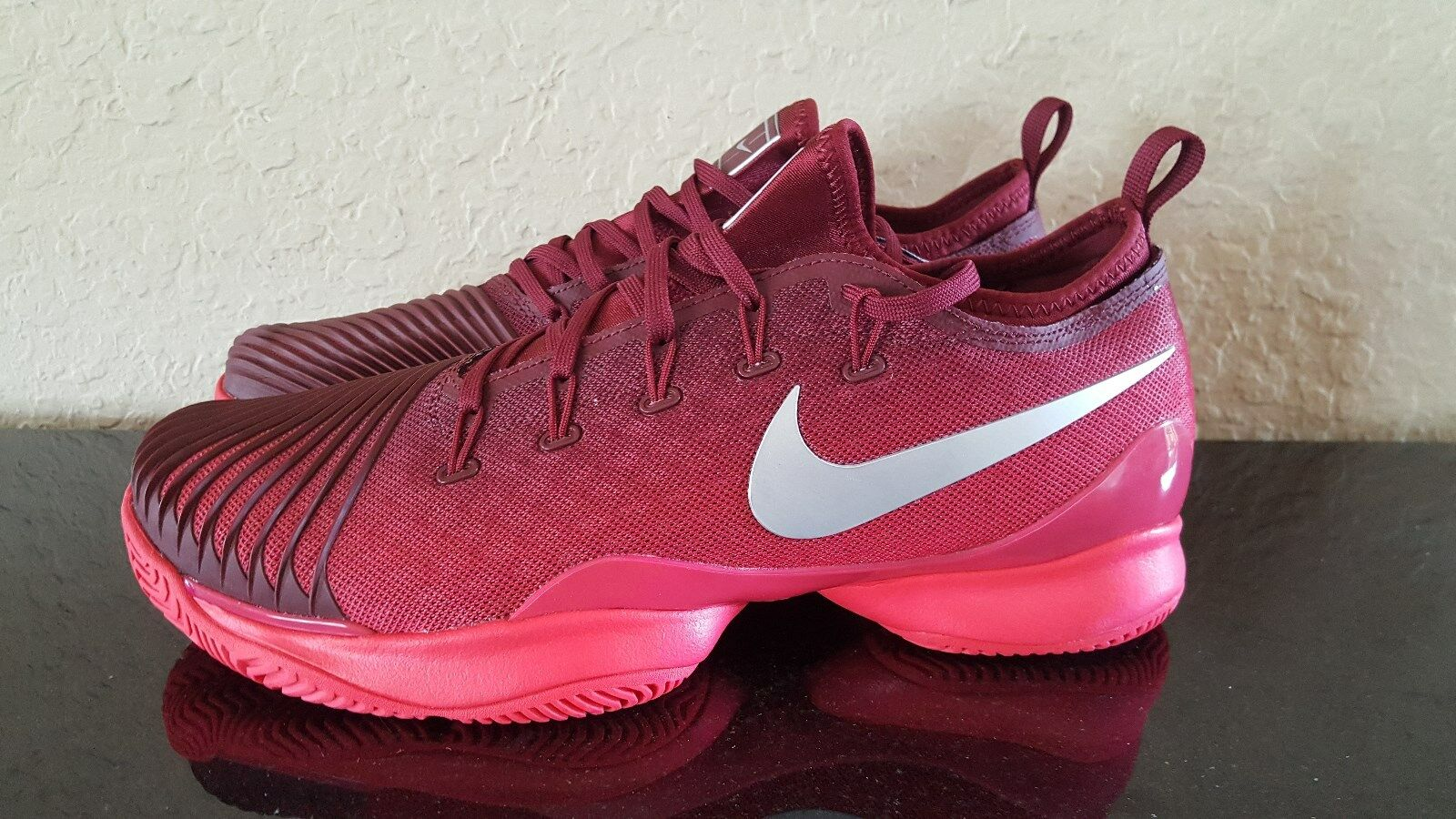 1e1cff06e10 ... Nike Court Air Zoom Ultra React Red Red Red NY 2017 Unisex 9db01f ...