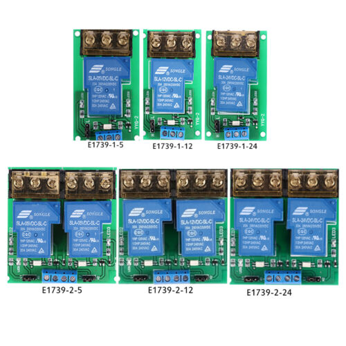 2Channel 12V Board Relay Module Optocoupler Isolation Supports High /&Low Trigger