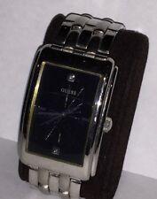 5ba6f7b73 GUESS U10587G1 Steel 50Meters/165Feet Water Resistant Retro Diamond Dial  Watch