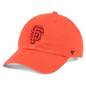 c1cecd23100e0 San Francisco Giants MLB 47 Tonal CLEAN UP Cap Hat Adjustable Orange ...