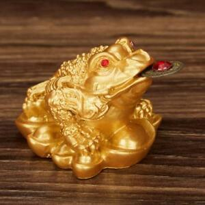Image Is Loading Oriental Fortune Decor Chinese Frog Coin Feng Shui