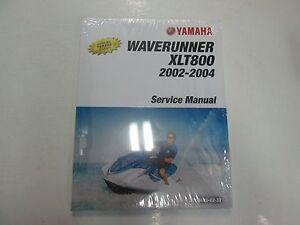 2002 03 2004 Yamaha Waverunner Xlt800 Xlt 800 Service Shop border=