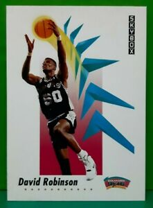 David Robinson regular card 1991-92 Skybox #261