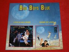 BAD BOYS BLUE - LOVE IS NO CRIME / GAME OF LOVE COCONUT TOP RARE OOP CD