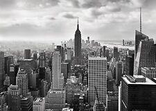 Wall Mural photo Wallpaper NEW YORK CITY BLACK & WHITE Large size wall art