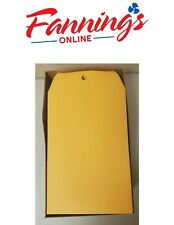 Quality Park Clasp Envelope6 X 9 28lbmanilla Kraft 100box 37855 New
