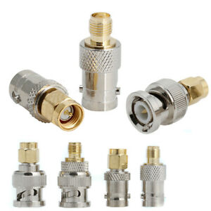 4PCS-BNC-To-SMA-Type-Male-Female-RF-Connector-Adapter-Test-Converter-Kit-Set