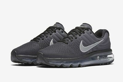 Nike Air Max 2017 GS Youth 851622 001 Black Anthracite UK 4.5 EU 37.5 US 5Y New | eBay