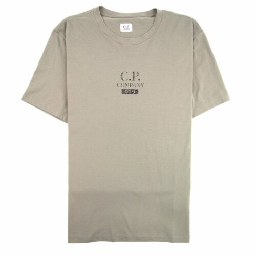 CP Company 019 Back Logo T-shirt Khaki 932