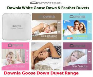 Downia-White-Goose-Down-amp-Feather-Imperial-Gold-Four-Season-Doona-Duvet-Quilt
