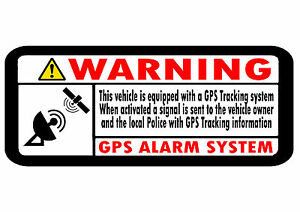 NEW Safurance 5xAlarm System Monitored Warning Security Stickers External  Security Sign Notice Home Safety