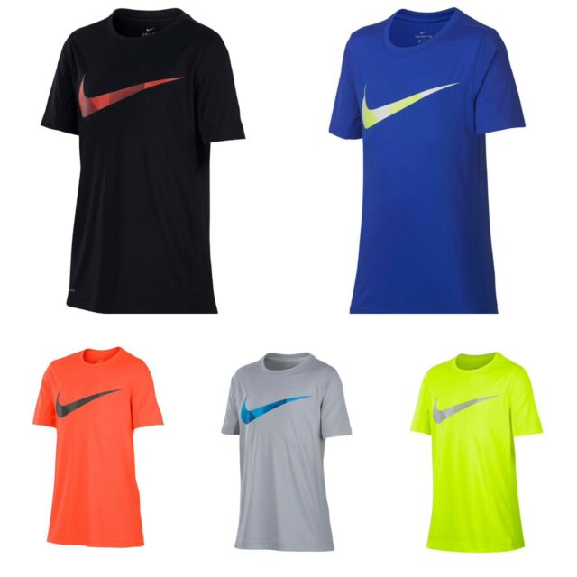 New Nike Boy/'s Dri-Fit Shirt