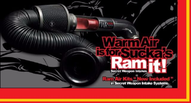 Weapon-R Dragon Air Intake System+Cold Ram Kit II For 03-06 Baja 2.5l Non Turbo