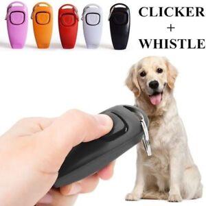 Dog-Training-cliquer-Sifflet-Clicker-Pet-Guide-obeissance-Pet-Trainer-Cliquez-Chiot