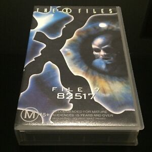The-X-Files-File-7-82517-VHS-PAL-Format