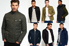 New Mens Superdry Jackets Selection - Various Styles & Colours 2610