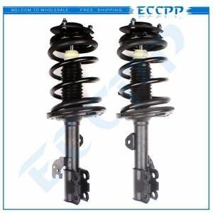 2 Front Complete Struts Shock Absorbers Assembly For 2007-11 Toyota Camry Avalon