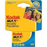 Kodak Gc 135-24 Max 400 Color Print 35mm Film Iso 400 Carded