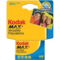 Kodak Gc 135-24 Max 400 Color Print 35mm Film Iso 400 Carded