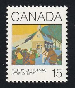 """Canada MNH 1980 """"Christmas Morning"""" by Hennessy, sc#870"""