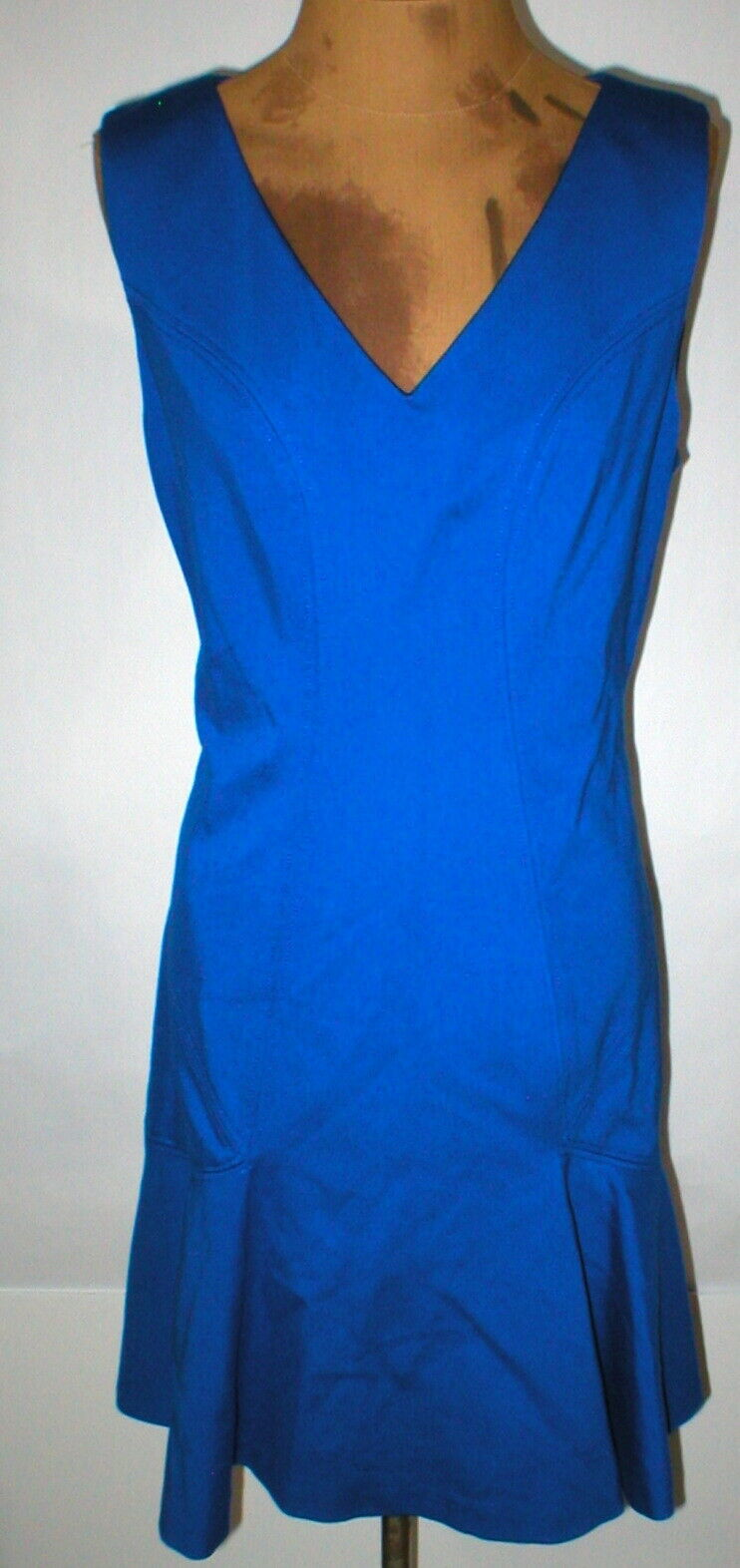 ny kvinnor 12 NWT Designer Klä billa Diane von Furstenberg blå stjärna Sapphire