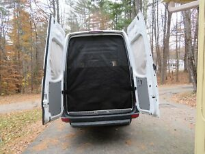 Mercedes-Sprinter-Van-Magnetic-Mosquito-Screen-Privacy-Curtain-Rear-Doors-magnet